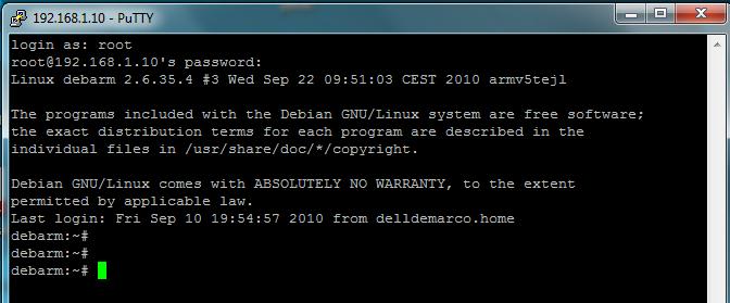 Connexion ssh sous Windows